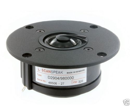 "Scan Speak Hochtöner D2904/980000  1"" SD Tweeter Alu Classic Serie"